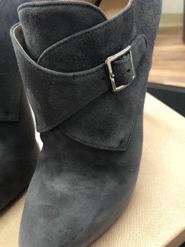 New AUTH Prada Grey Suede Camoscio EU SZ 37.5 $895