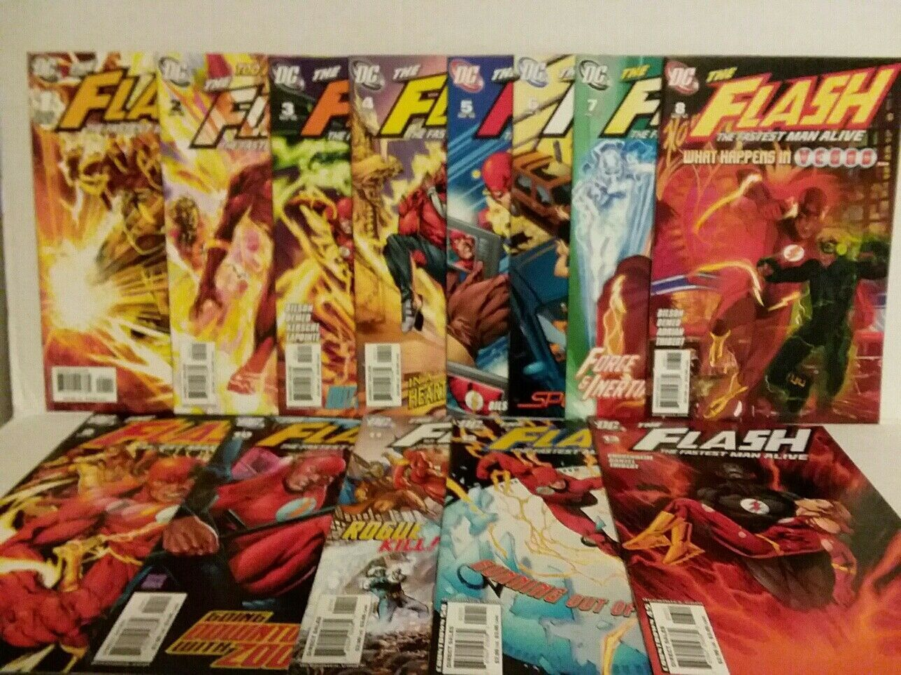 THE FLASH #1 - 13 2006 RUN - BART ALLEN - FREE SHIPPING