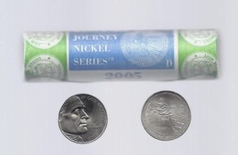 2005-D (Ocean in View ) Jefferson Nickel 40-Coin Roll (Mint Wrapped) - $15.95