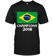 Brazil Champions 2018 Football Jersey Soccer Shirt - $17.99+