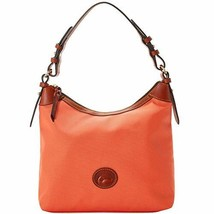 Dooney & Bourke Large Erica Nylon Hobo Coral