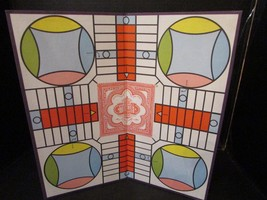 """PARCHEESI GAME BOARD ONLY SMALLER THAN ORIGINAL 15-5/8"""" - $7.79"""