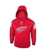 REEBOK DETROIT RED WINGS Fleece Airstrike Hoodie Sweatshirt NWT Youth Sz... - $29.99