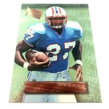 Eddie George 1996 Fleer Metal Rookie Card #131 NFL Houston Oilers Ohio S... - $1.93