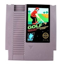 NES GOLF (Nintendo Entertainment System, 1985) Cart Only Tested - $3.95