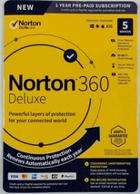 Norton Internet Security 360 Deluxe (5-Devices) (1-Yr) - Android|Mac|Win... - $42.99