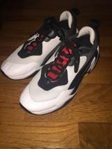 PUMA Thunder Sneaker Men Genuine Leather 10 WHITE/BLACK ATHLET Basketball - $49.49