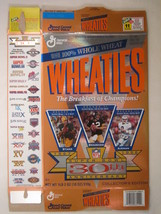 Empty Wheaties Box 1995 18oz Super Bowl 30th Starr Bradshaw Aikman [Z202c1] - $6.38