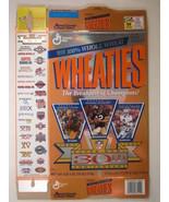 Empty WHEATIES Box 1995 18oz SUPER BOWL 30th Starr Bradshaw Aikman [Z202c1] - $6.38