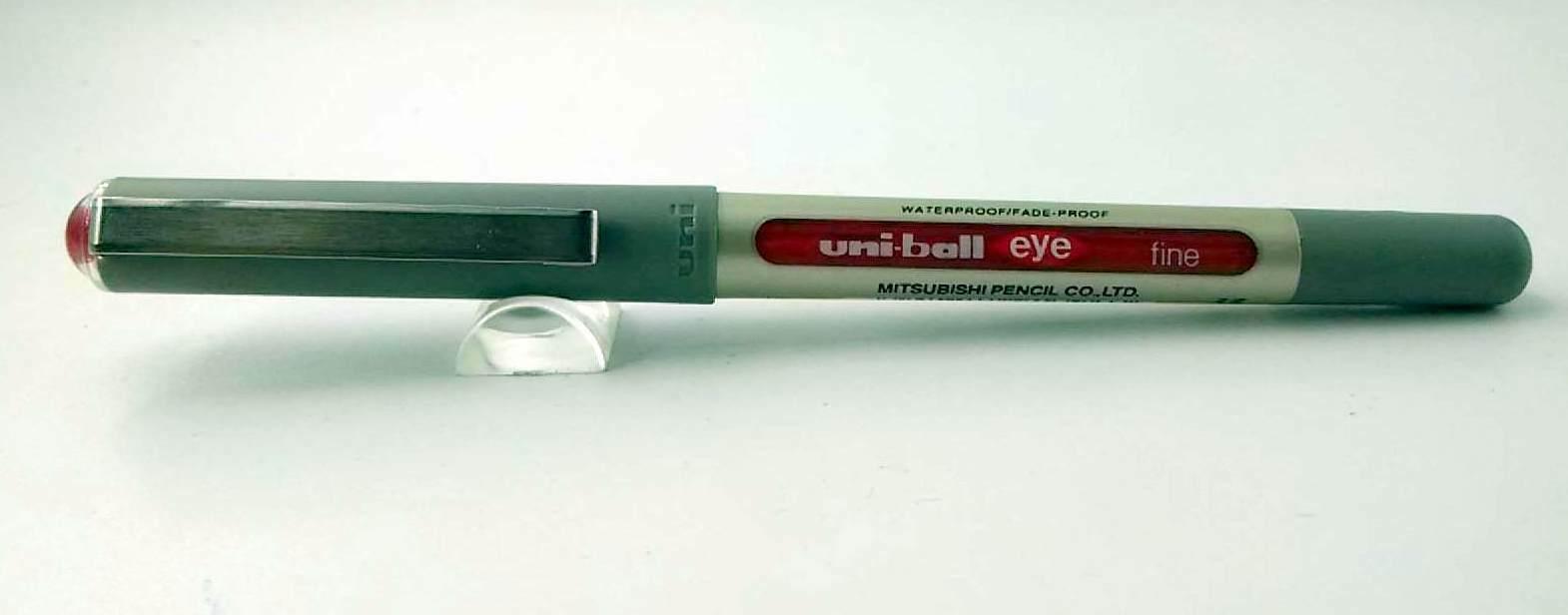 Uni-Ball UB 157 UB-157 Eye Fine Roller BallPen Red -high writing performance