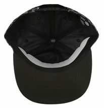 Neff Mens Black/Grey Bogie Checker Adjustable Snapback Hat Cap One Size NEW image 6