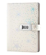 ARRLSDB PU Leather Journal with Lock, A5 Size Diary with Combination Loc... - $21.65