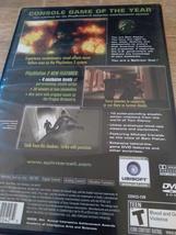 Sony PS2 Tom Clancy's Splinter Cell (no manual) image 2