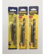 """(New) Irwin Hanson 80242 1/2""""-13NC Plug Tap & Drill Bit Pack of 3 - $24.74"""