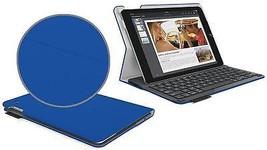 Logitech Type+ plus Air 2 Electric Blue Textured Bluetooth Keyboard Case... - $35.98
