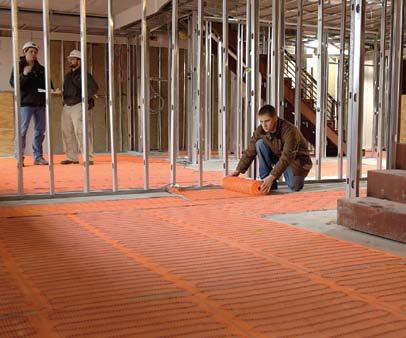 SunTouch Floor Heating Mats 35 sq