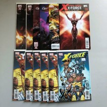 Lot of 12 X-Force Comics with duplicates VF Very Fine - $19.80