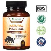 Natural Male XXL Pills - Natural Size, Stamina & Strength Booster - 60 C... - $96.99
