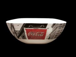 Coca-Cola Coke Noir Melamine Melacore Soft Square Bowls  - Set of 4 - $9.16