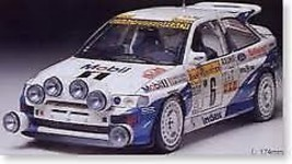 w/ Option Decal TAMIYA 1/24 FORD ESCORT RS COSWORTH 4X4 '94 MONTE Rally ... - $74.91