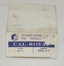 Cal Royal SDL17 Sliding Door Lock Passageway Finish US3 image 5