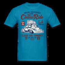 Vintage Automotive Graphic Tee; Bug, Classic, California Ride - £10.84 GBP