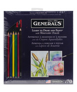 Learn To Draw And Paint With Watercolor Pencils-  - $24.23