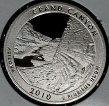 2010 S State Quarter Grand Canyon                Gem Proof Deep Cameo - $2.75