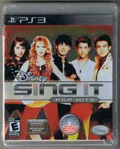Playstation 3 Disney Sing It Pop Hits Game New Factory Sealed - $9.49
