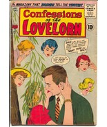 Confessions of The Lovelorn #71 1956-ACG- romance-spicy stories-Rare-VG+ - $63.05