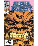 Alpha Flight Comic Book #10 Marvel Comics 1984 FINE+ NEW UNREAD - $2.25