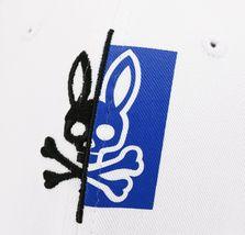 Psycho Bunny Men's Cotton Embroidered Logo Dovedale Baseball Cap Strapback Hat image 13