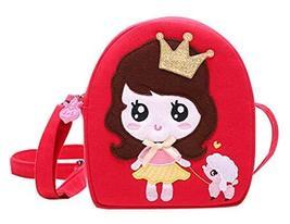 Panda Superstore Princess Messenger Bag Cute Bag Children Travel Shoulder Bag Co - $15.35