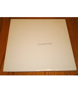 THE BEATLES WHITE ALBUM CAPITOL LABEL WHITE COLORED VINYL COMPLETE w/INS... - $296.99