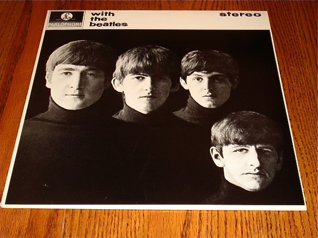 THE BEATLES WITH THE BEATLES IMPORT MADE IN GREAT BRITAIN