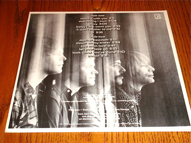 THE BEST OF BREAD ORIGINAL LP  BUTTERFLY ELEKTRA LABEL