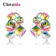 15% Off Stud Earrings for Women Bijouterie Earring Costume Jewelery Earrings wit - $13.40