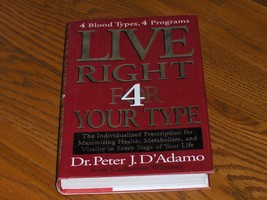Live Right 4 Your Type  - $14.97