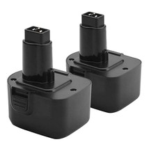 2 Pack Upgraded 3.5Ah 12V Ni-Mh Battery Compatible With Dewalt Xrp Dw9 - $51.99