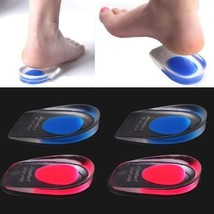 1Pair Massaging Soft Silicone Cushion Foot Massager Care Half Heel Insol... - $21.32
