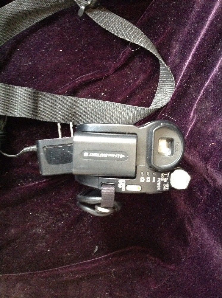 Sony Handycam DCR-DVD650 Mini DVD Hybrid Camcorder 60x Optical Zoom With Extras