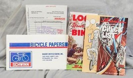 Vintage Schwinn New Bicycle Owners Checklist and Receipt for SX -500 197... - €16,88 EUR