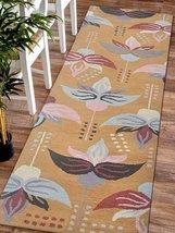Rugsotic Carpets Hand-Tufted Woolen Rug Gold K00669 - $92.00