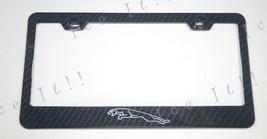 Jaguar XF Real 3K Twill Weave 100% CARBON FIBER License Plate Frame Holder - $32.66