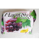 Harmony Fruity Soap Extra Moisturizer Enriched With Natural Grape Extrac... - $4.99