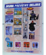 MARVEL/DC COMICS TOY POSTER: BUST/FIGURE/X-MEN MAGNETO/GREEN LANTERN/AQU... - $40.00