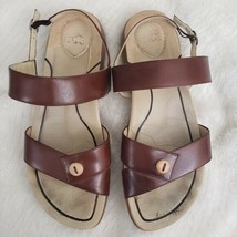 Dansko Didi Button Strappy Sandals Brazil Leather 10 - $33.47