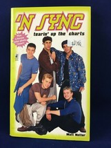 "Vintage Nsync paperback ""Tearin' up the charts"" Pocket Books - $1.97"