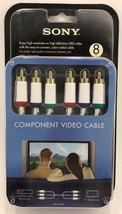 SONY - VMC-CV24 - 8' Component Video Cable - White - $14.80