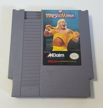 WrestleMania WWF WF Vintage Hulk Hogan 1989 - Nintendo NES Video Game Ca... - $13.81